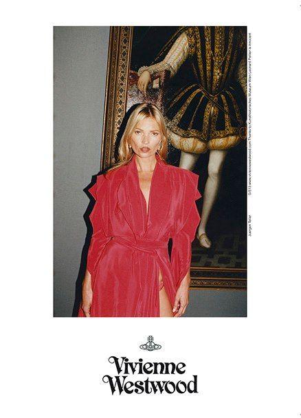 Kate Moss w kampanii Vivienne Westwood Gold Label