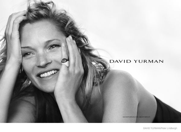 Kate Moss w najnowszej kampanii marki Davida Yurmana