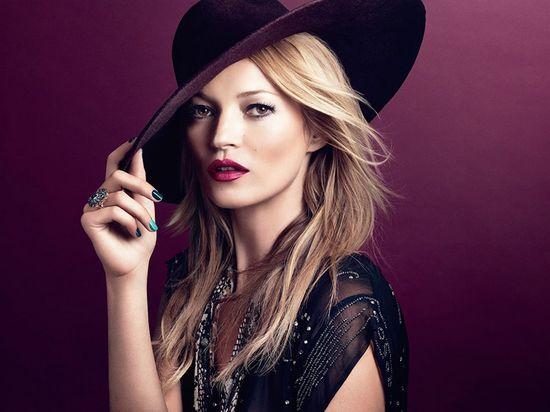 Kate Moss w najnowszej kampanii marki Rimmel!