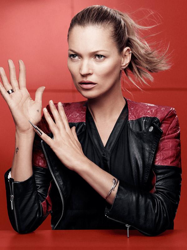 Kate Moss w kampanii Eleven Paris (FOTO)