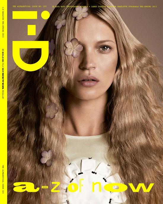 4 twarze Kate Moss w nowym i-D Magazine
