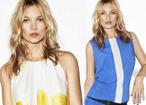 Kate Moss dla Mango (FOTO+VIDEO)
