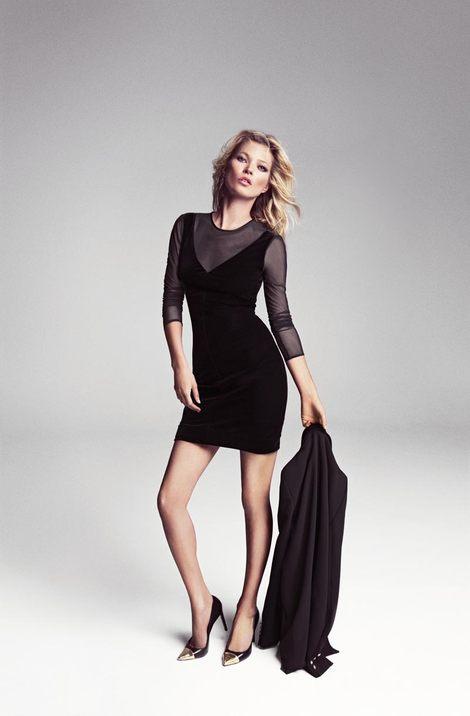 Kate Moss twarzą twarzą zimowej kampanii Mango