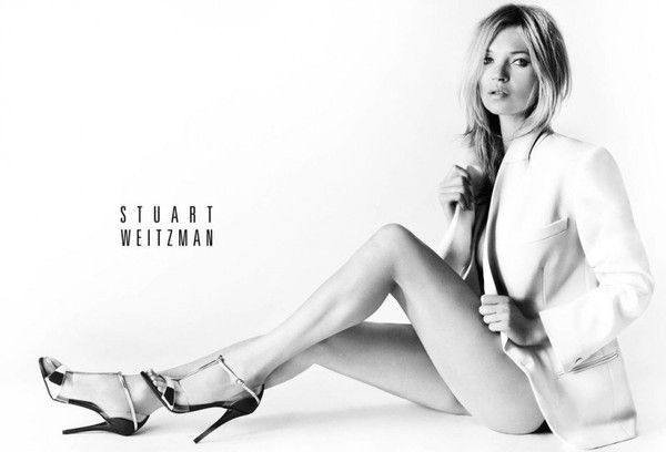 Kate Moss w kampanii marki Stuart Weitzman