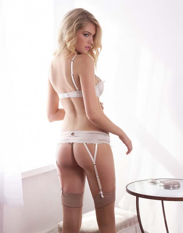 Kate Upton w zmłysłowej bieliźnie Jenna Leigh (FOTO)