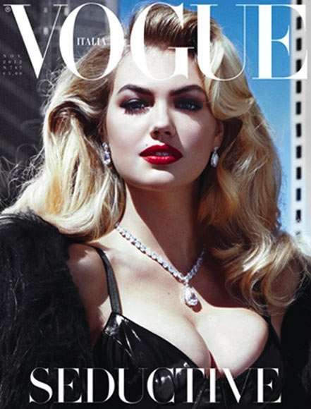 Kate Upton ponownie w Vogue'u