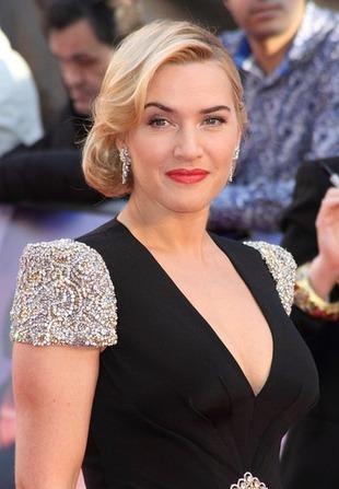 Kate Winslet na premierze Titanic 3D