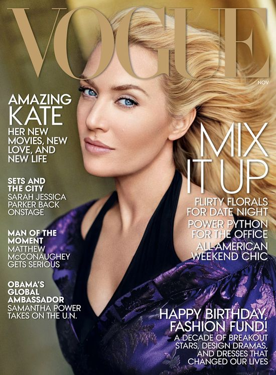 Gisele Bundchen i Kate Winslet gwiazdami Vogue!