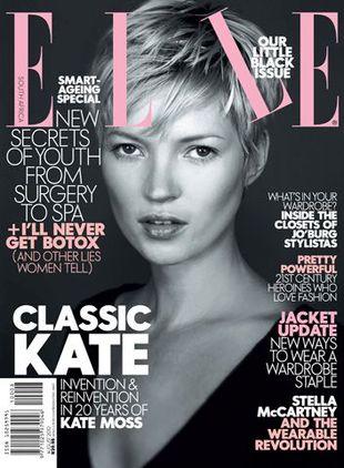 Krótka czupryna Kate Moss