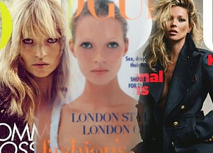 30. okładka Vogue z Kate Moss!