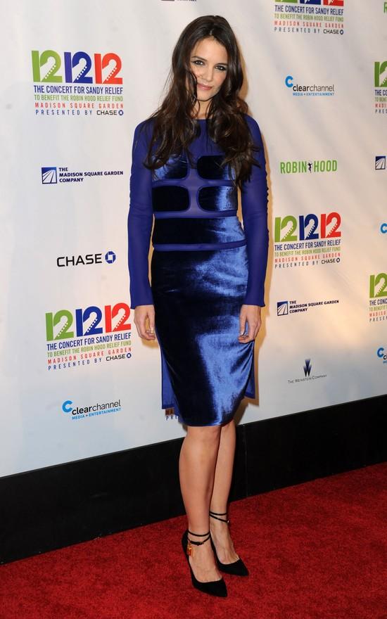 Katie Holmes w sukience Toma Forda (FOTO)