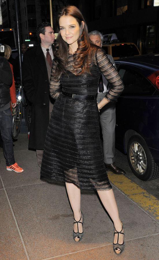 Katie Holmes w Dolce&Gabbana (FOTO)