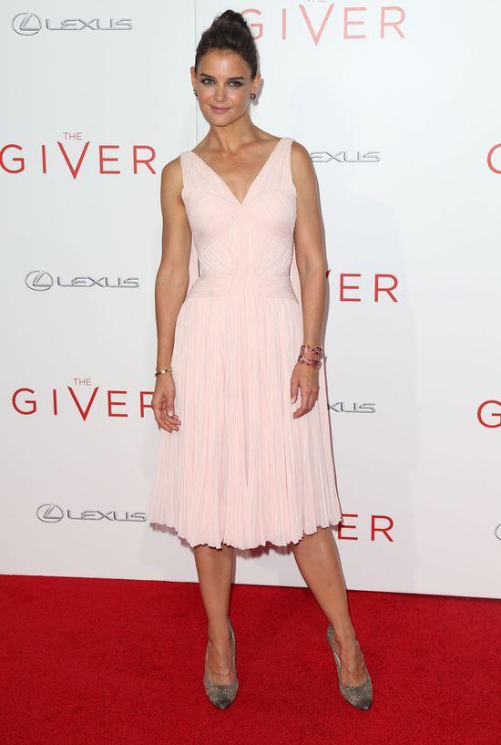 Katie Holmes w sukience Zac Posen (FOTO)