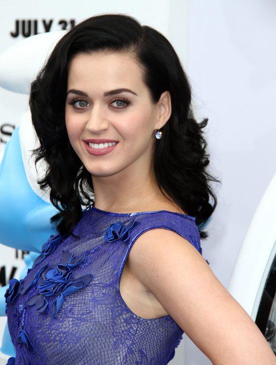 Katy Perry skąpana w kobalcie