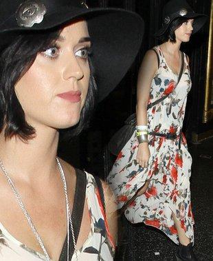 Katy Perry w stylu boho (FOTO)