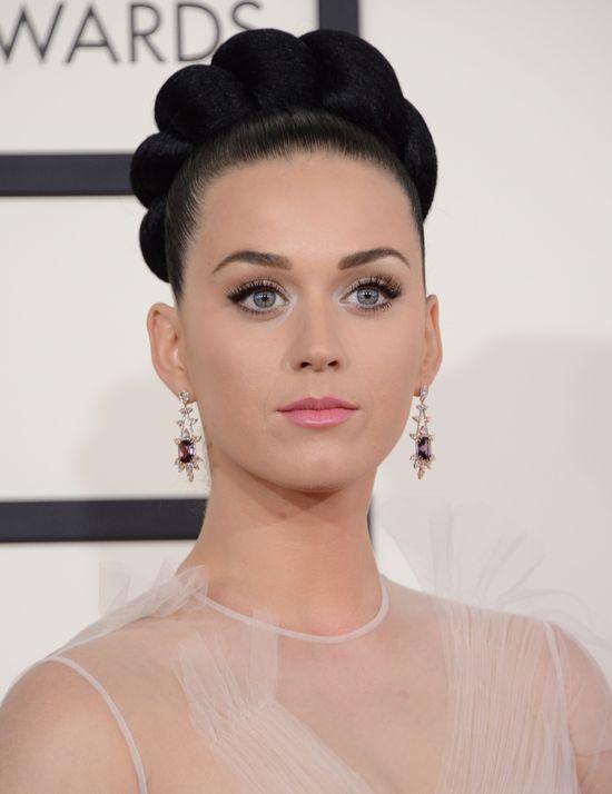 Katy Perry w nutach i prześwitach na gali GRAMMY 2014
