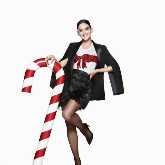 Katy Perry w świątecznej kampanii H&M (FOTO)