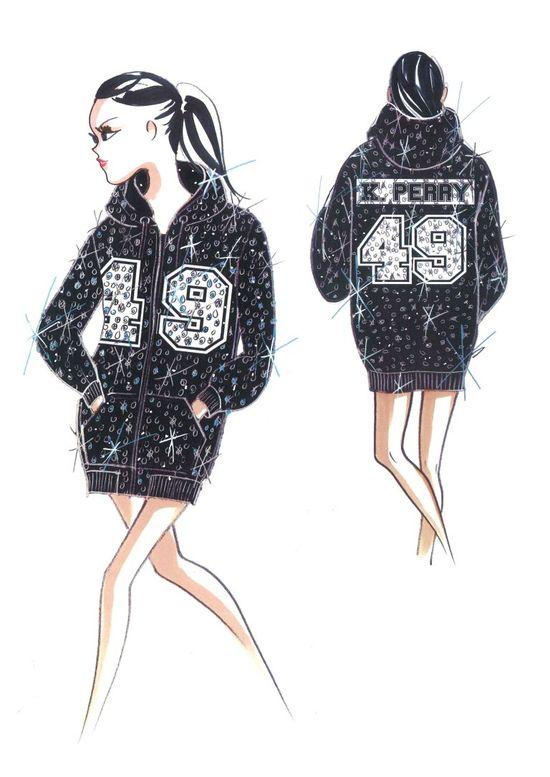 Świat mody zafascynowany stylizacjami Katy Pery na Superbowl
