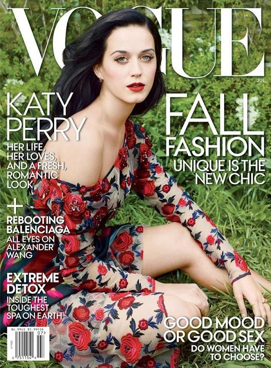 Wiosenna Katy Perry na okładce Vogue US