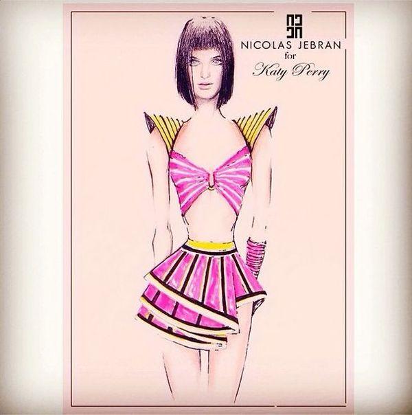 Katy Perry pokazała kostiumy ze swojej trasy koncertowej