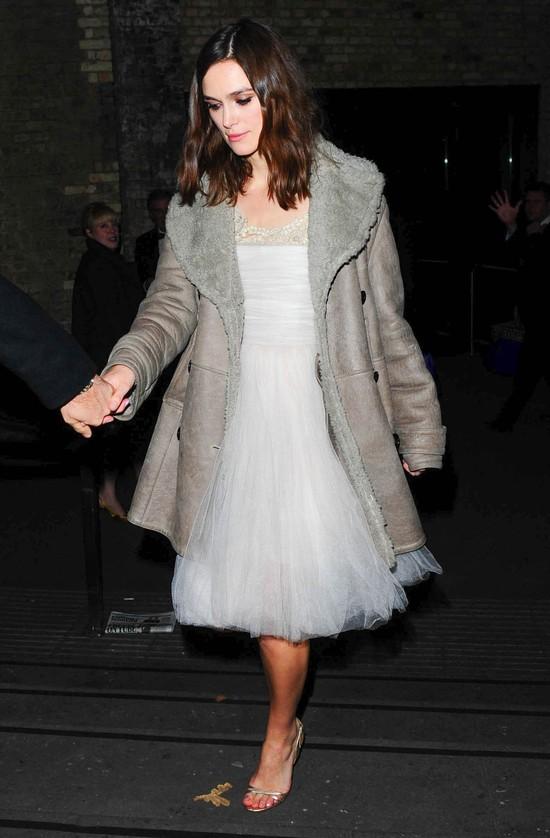 Keira Knightley nie powiedziała całej prawdy o swojej sukni