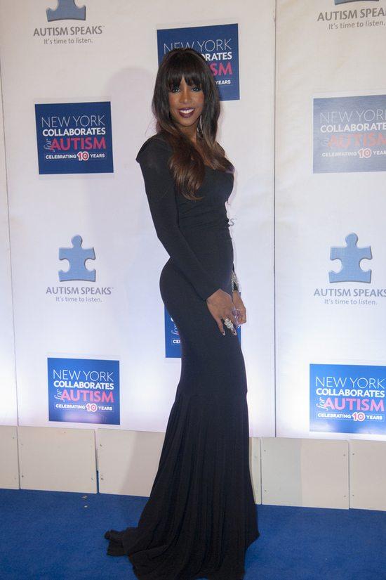Kelly Rowland w sukni Roland Mouret (FOTO)