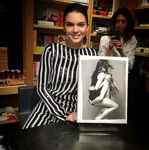 Walentynkowa stylizacja Kendall Jenner (FOTO)