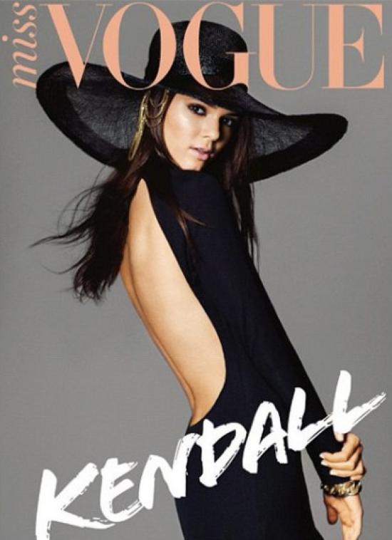 Kendall Jenner w Miss Vogue