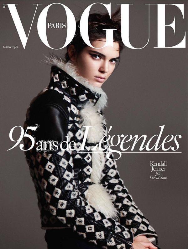 Kendall Jenner na dwóch okładkach Vogue'a! (FOTO)