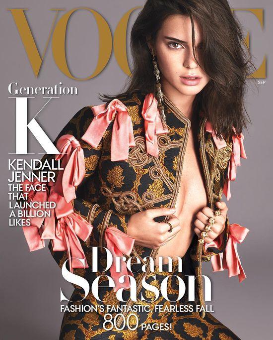 Kendall Jenner dopięła swego! Wrześniowa okładka Vogue'a należy do niej