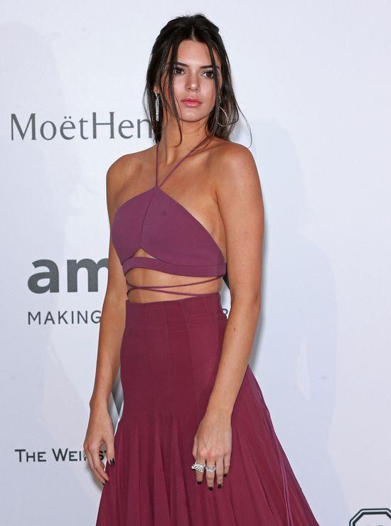 Kendall Jenner zachwyciła kreacją na gali amfAR (FOTO)