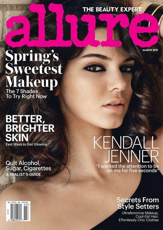 Kendall Jenner w wersji sexy dla Allure (FOTO)
