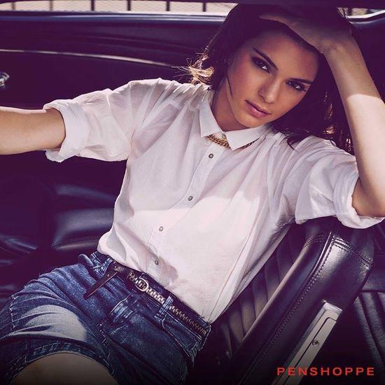 Seksowna Kendall Jenner dla Penshoppe - więcej zdjęć!