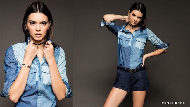 Kendall Jenner kusi w jeansach w kampanii Penshoppe (FOTO)