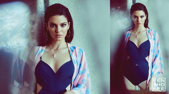 Seksowna Kendall Jenner w najnowszej kampanii Penshoppe