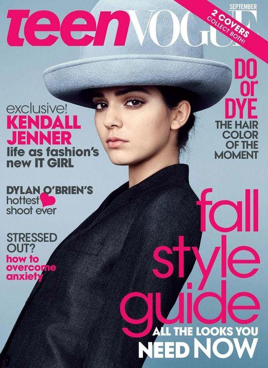Kendall Jenner na dwóch okładkach Teen Vogue (FOTO)