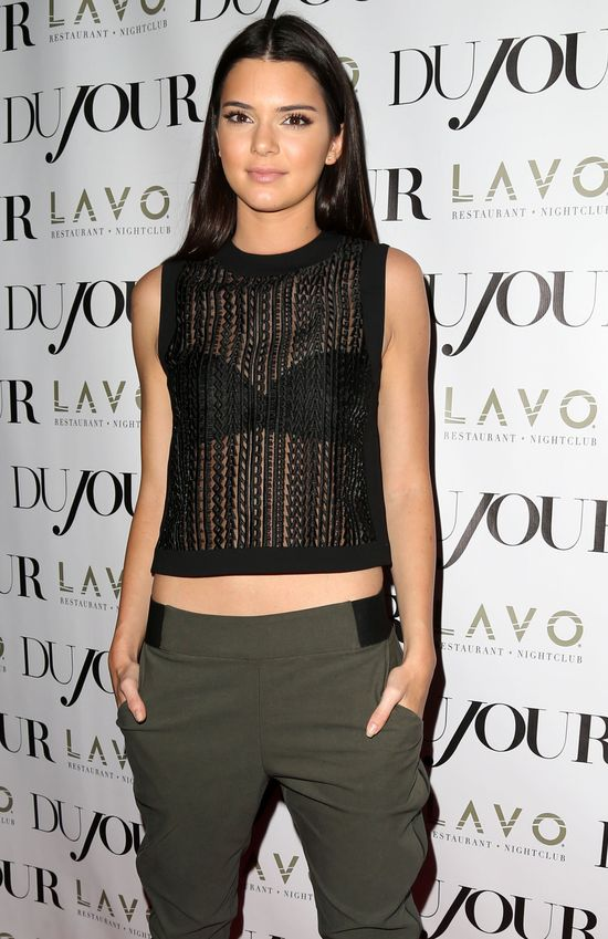 Kendall Jenner zapozowała całkowicie NAGO! (FOTO)