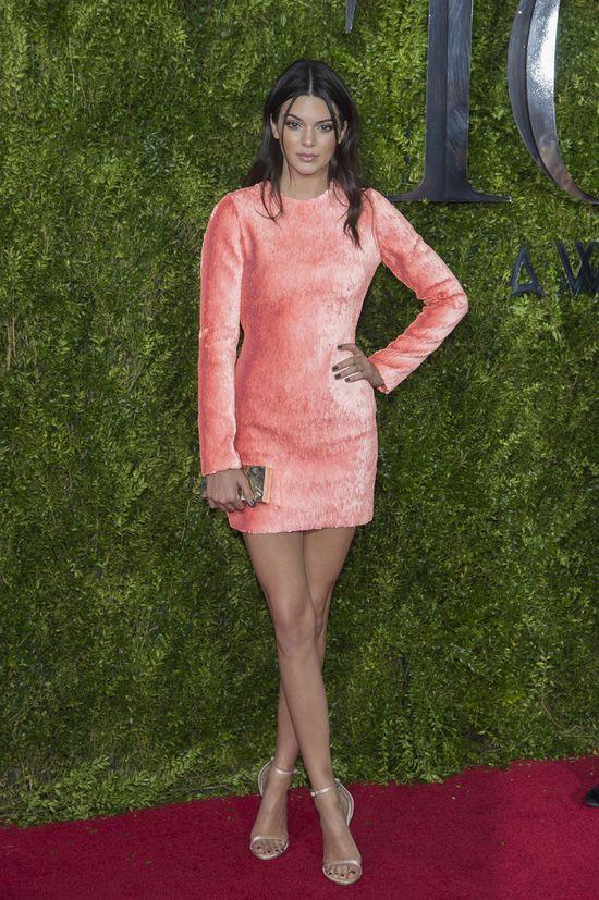 Kendall Jenner zaliczyła modową wpadkę na Tony Awards?