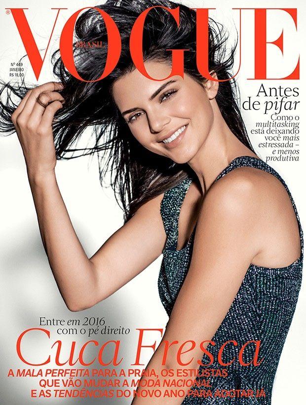 Kendall Jenner na kolejnej okładce magazynu Vogue!