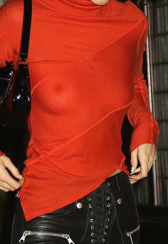 Kendall Jenner włożyła prześwitującą bluzkę. Zdjęcia pokazują wszystko!