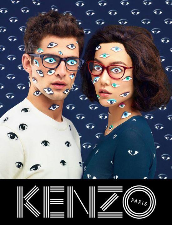 Zwariowana kampania KENZO Fall-Winter 2013