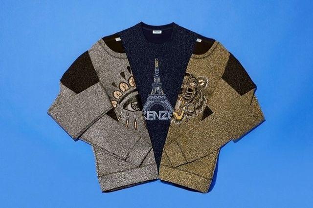 Świateczne swetry od Kenzo (FOTO)