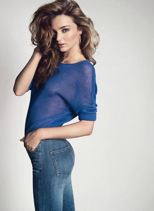 Miranda Kerr w kampanii Mango wiosna-lato 2013