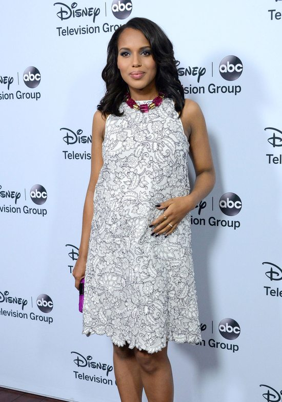 Kerry Washington w sukience Tory Burch (FOTO)