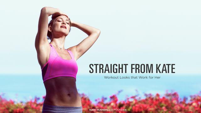 Sportowa linia od Kate Hudson - Fabletics (FOTO)