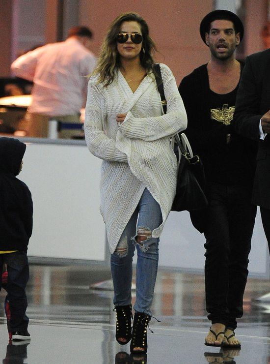 Khloe Kardashian w butach Giuseppe Zanotti