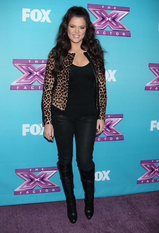 Khloe Kardashian w X Factor