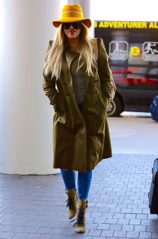 Khloe Kardashian wyjątkowo trafiła z codzienną stylizacją