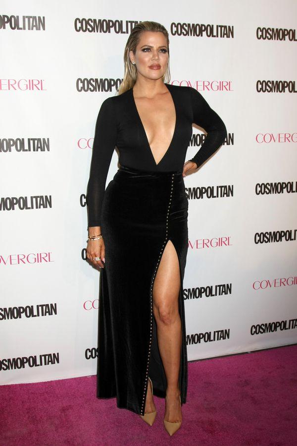 Kardashianki i Jennerki na imprezie Cosmopolitan (FOTO)