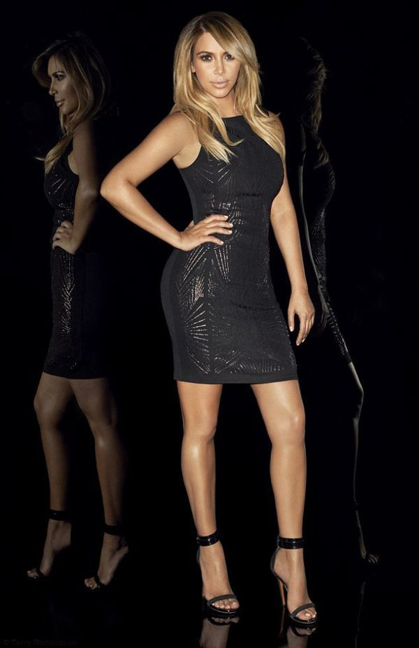 Seksowna Kim Kardashian w karnawałowej kampanii Lipsy (FOTO)